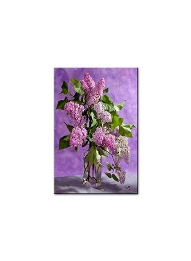 Arte Casero Çiçek Kanvas Tablo 60x90 cm  Renkli